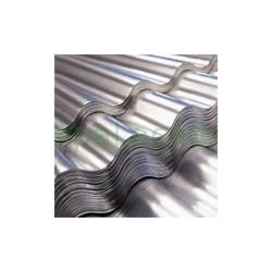 Chapa Ondulada Alumínio Natural 0.5mm